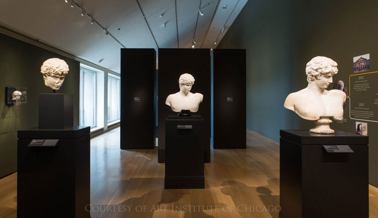 New Antinous bust - Exhibition at Art Insitute of Chicago