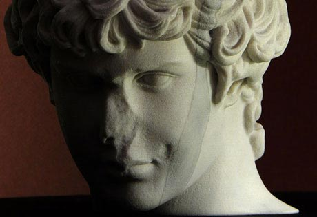 Antinous. A new bust